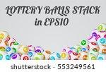 vector illustration of lottery... | Shutterstock .eps vector #553249561