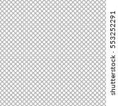 vector monochrome seamless... | Shutterstock .eps vector #553252291