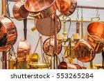 copper objects | Shutterstock . vector #553265284