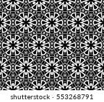 modern geometric seamless... | Shutterstock .eps vector #553268791