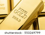 Gold Bars. Financial Concept....