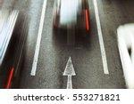 go forward  speed car movement... | Shutterstock . vector #553271821