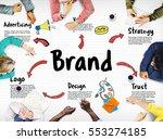 brand marketing strategy... | Shutterstock . vector #553274185