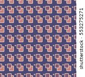 seamless pattern of repeating... | Shutterstock .eps vector #553275271