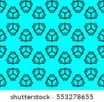abstract seamless geometries...   Shutterstock .eps vector #553278655