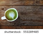 Matcha Green Tea Cup With Hear...