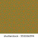 geometric shape abstract vector ... | Shutterstock .eps vector #553336594