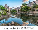 Stari Most Bridge At Sunrise I...
