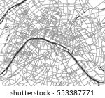 black and white scheme of the... | Shutterstock .eps vector #553387771