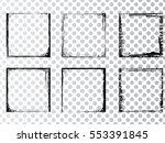 vector frames. rectangles for... | Shutterstock .eps vector #553391845