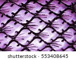 silver carved dragon scales | Shutterstock . vector #553408645