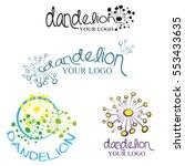 Colorful Dandelion Logo ...