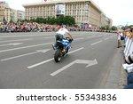 ukraine  kiev   may 29  bikers... | Shutterstock . vector #55343836