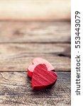 valentines hearts   Shutterstock . vector #553443079