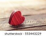 valentines hearts   Shutterstock . vector #553443229