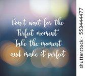 inspirational motivating quote... | Shutterstock . vector #553444477