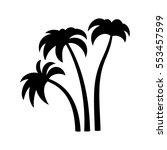palm trees | Shutterstock .eps vector #553457599