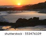 Sunset Along The Coast Of Cape...