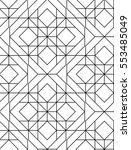 seamless geometric pattern.... | Shutterstock .eps vector #553485049
