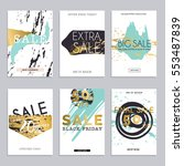 sale website banners web... | Shutterstock .eps vector #553487839