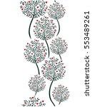 elegant seamless vertical... | Shutterstock .eps vector #553489261