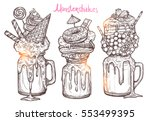 monstershakes in graphic sketch ...