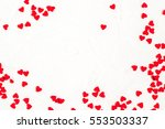 elegant festive background with ... | Shutterstock . vector #553503337