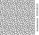 abstract polka dot background... | Shutterstock . vector #553518115