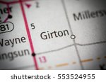 girton. ohio. usa | Shutterstock . vector #553524955
