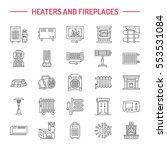 water boiler  thermostat ... | Shutterstock .eps vector #553531084