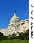 united states capitol building  ... | Shutterstock . vector #553542259