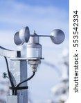Anemometer Used On Meteorologic ...