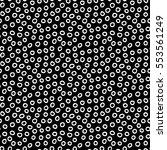 abstract polka dot background... | Shutterstock . vector #553561249