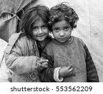 azaz  syria   january 26  2014. ...   Shutterstock . vector #553562209