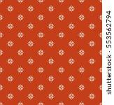 seamless vintage pattern | Shutterstock .eps vector #553562794