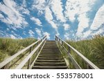 stairs to heaven | Shutterstock . vector #553578001