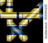 computer generated 3d fractal. | Shutterstock . vector #553594255