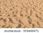 Background And Texture Of Sand...