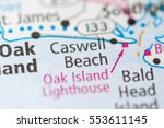 caswell beach. north carolina.... | Shutterstock . vector #553611145
