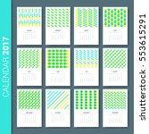 wall monthly calendar concept.... | Shutterstock .eps vector #553615291