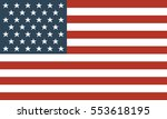 usa vector flag  | Shutterstock .eps vector #553618195