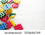 children plastic constructor on ... | Shutterstock . vector #553646749