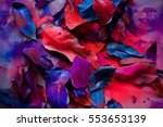 abstraction from the leaves ... | Shutterstock . vector #553653139