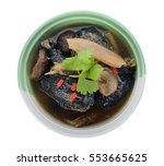 Black Chicken Stewed With...