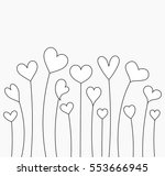 growing hearts for coloring....