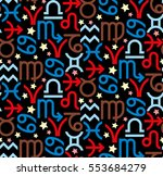 seamless pattern of colored...   Shutterstock .eps vector #553684279