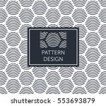 pattern design   abstract... | Shutterstock .eps vector #553693879