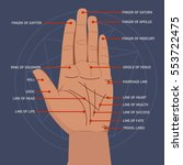 Palmistry. Open Hand Lines And...