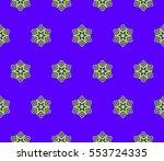 ornamental seamless pattern....   Shutterstock .eps vector #553724335