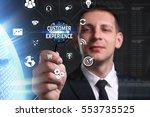 business  technology  internet... | Shutterstock . vector #553735525